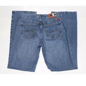 Lucky Brand womens 6/28 jeans W28 L32 orange logo